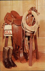 Will Rogers Saddle