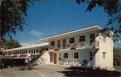 Riverview Motel Postcard