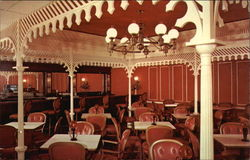 Johnny Cace's Seafood & Steak House - Showboat Room Postcard