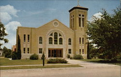 Saint Rose of Lima Church Postcard