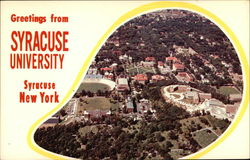 Aerial View of the Syracuse University Campus