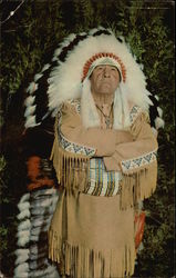 Chief Brown Eagle of the Chippewa Indian Tribe
