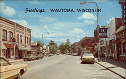 Greetings from Wautoma, Wisconsin