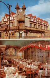 Old Prague Restaurant Postcard