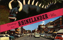 Greetings from Rhinelander