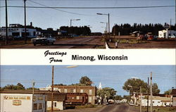 Greetings from Minong, Wisconsin
