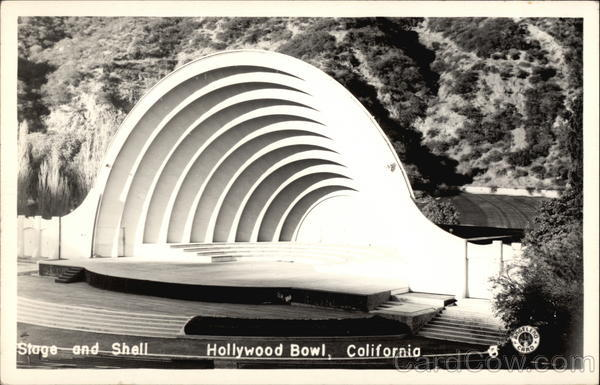 Stage and Shell, Hollywood Bowl Los Angeles California