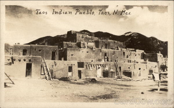 Indian Pueblo Taos New Mexico