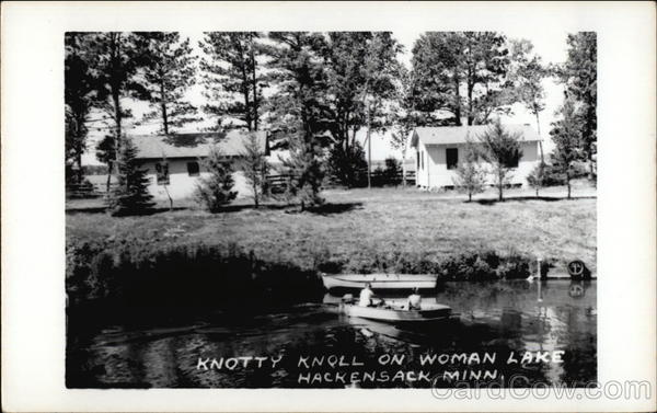 Knotty Knoll on Woman Lake Hackensack Minnesota