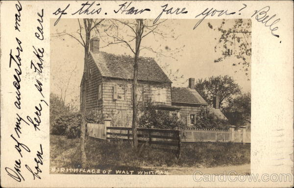 Birthplace of Walt Whitman West Hills New York