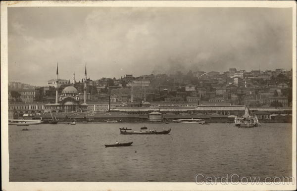 View of Waterfront Istanbul Turkey Greece, Turkey, Balkan States