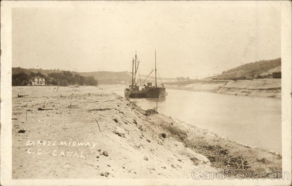 Barges Midway C.C. Canal Cape Cod Massachusetts