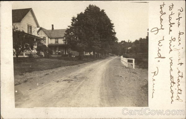 View of Street Broome County New York