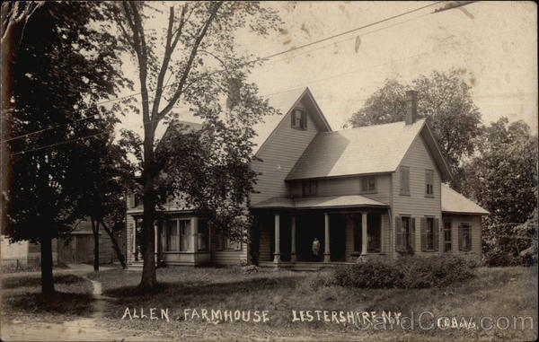 Allen Farmhouse Lestershire New York
