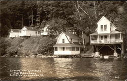 Cabins and Cottages, The Boulders, Lake Willoughby