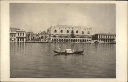 Venetian Buildings, Canal and Gondola