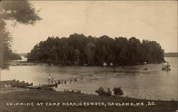 Swimming at Camp Norridgewock