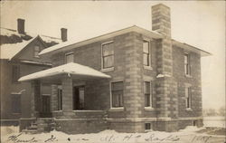 H.E. Saylor's Home - after construction