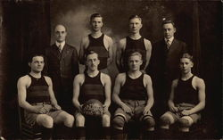 1915-16 Basketball Team Champions (Union-Endicott)