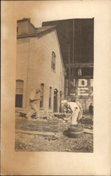 Bricklayers at Work, Endicott Johnson & Co