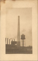 Smokestack of Endicott Johnson & Co