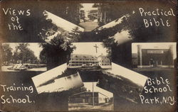 View of the Practical Bible Training School Postcard