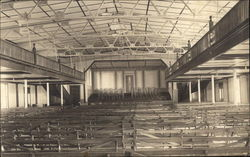 "Inside of ""King Hall"" Postcard"