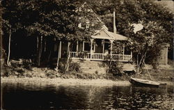 Home on the River Postcard
