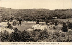 Birdseye View of Scott's Grounds, Oquaga Lake