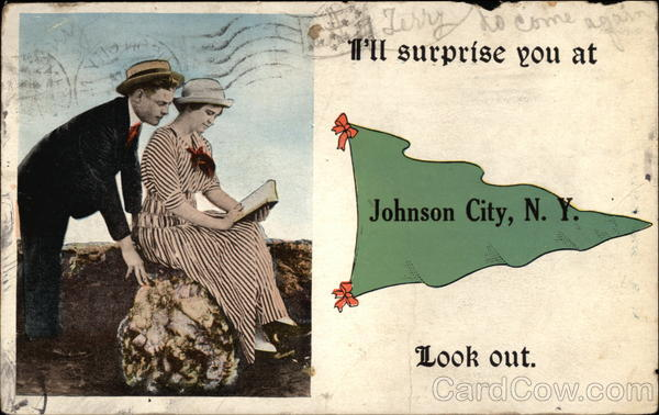 I'll surprise you at Johnson City New York