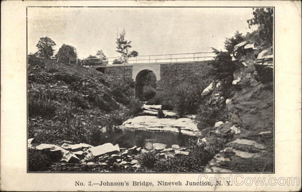 Johnson's Bridge Nineveh Junction New York