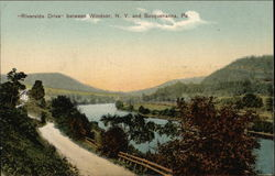 Riverside Drive between Windsor, NY and
