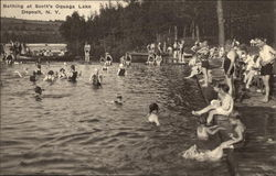 Bathing at Scott's, Oquaga Lake