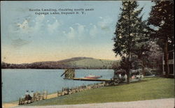 Scotts Landing (Looking North East), Oquaga Lake
