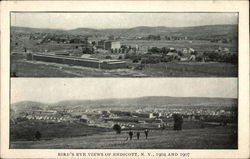 Bird's Eye Views of Town, 1904 and 1907