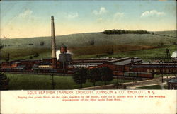 Sole Leather Tannery, Endicott, Johnson & Co