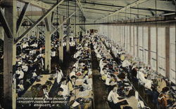 Stitching Room in Shoe Factory, Endicott Johnson Company