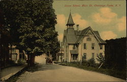 Union School, Main St Postcard