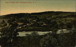 View of the West Side Postcard