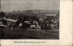 Bird's Eye View of Centre Lisle