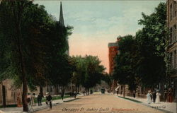 Chenango Street, Looking South Postcard