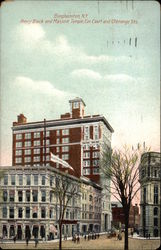 Perry Block and Masonic Temple, Corner of Court and Chenango Sts