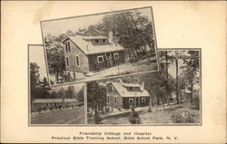 Friendship Cottage and Hospital - Practical Bible Training School Postcard