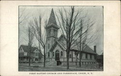 First Baptist Church and Parsonage