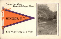 "You ""Auto"" Pay Us a Visit Postcard"