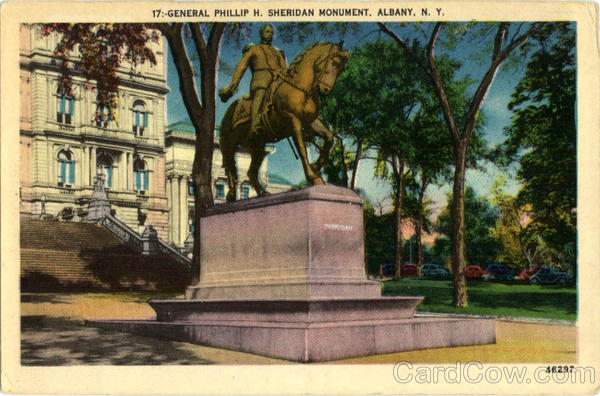 General Phillip H. Sheridan Monument Albany New York