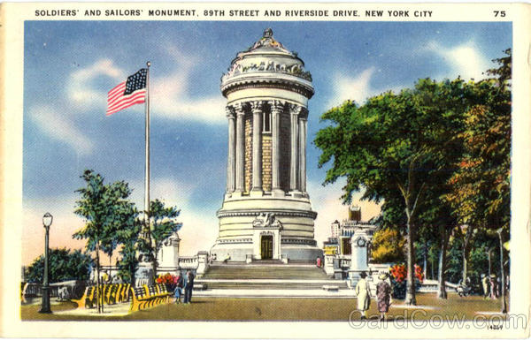 Soldiers' and Sailors' Monument, 89th Street and Riverside Drive New York City