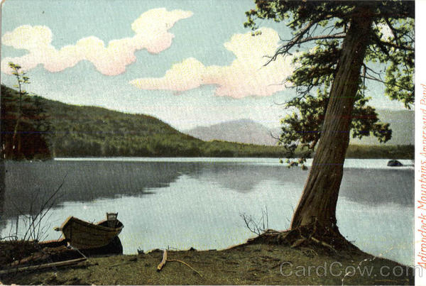 Adirondack Mountains Amnersand Pond New York
