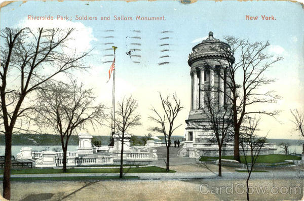 Soldiers and Sailors Monument Riverside Park New York