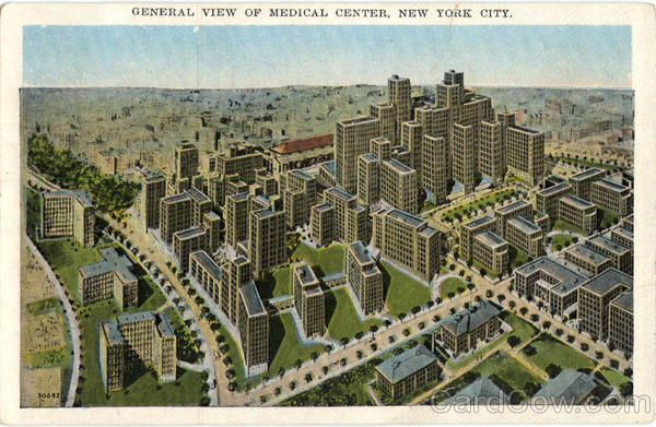 General View of Medical Center New York City